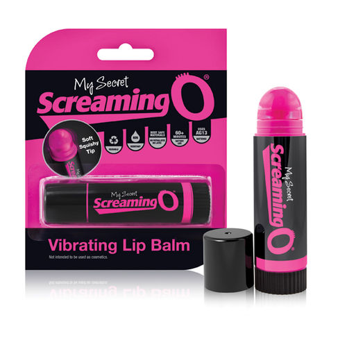 VIBRATORE PER CLITORIDE LIP BALM SCREAMING O
